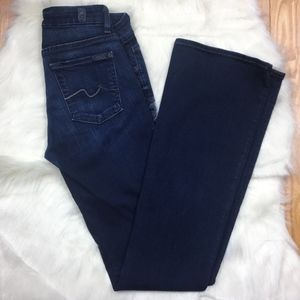 7 For All ManKind Jimmie Bootcut Low Rise Jeans
